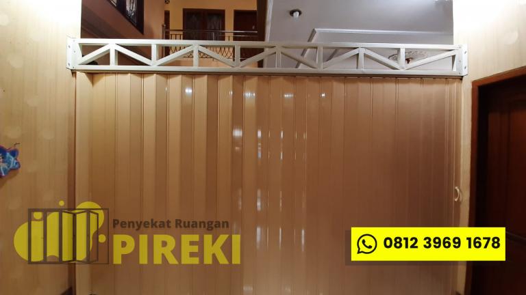 Pintu Lipat PVC Pireki